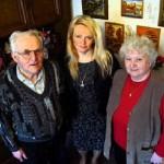 Bruno i Edeltraut Hanowscy z córką Krystyną
